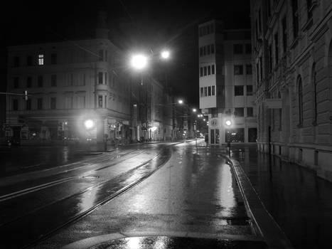 Street by night - Innsbruck