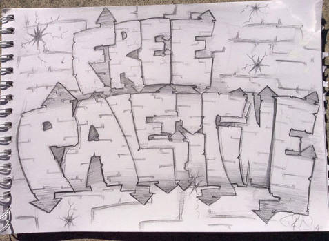 'Free Palestine'