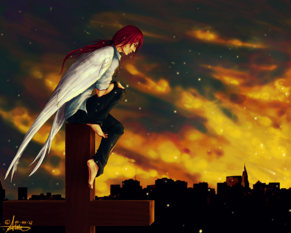Guardian Angel by Kiulani