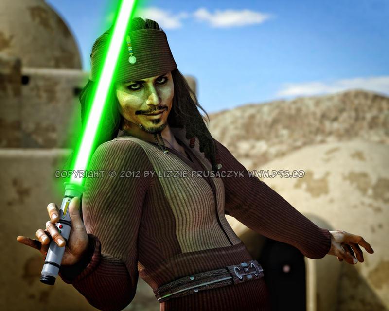 Jedi Sparrow by LizzieDream9