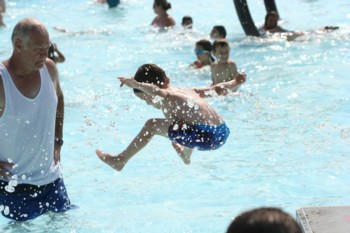waterpark kid