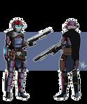 COMMISSION - Custom Armor by Dehzinn