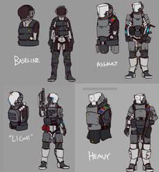 Suit variants