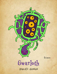 Gwarloth - Amoebic Horror by StephenLewisArt