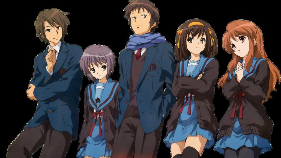 Haruhi Suzumiya Movie [Render]