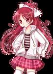 Kyoko Sakura - Puella magi Madoka Magica [Render]