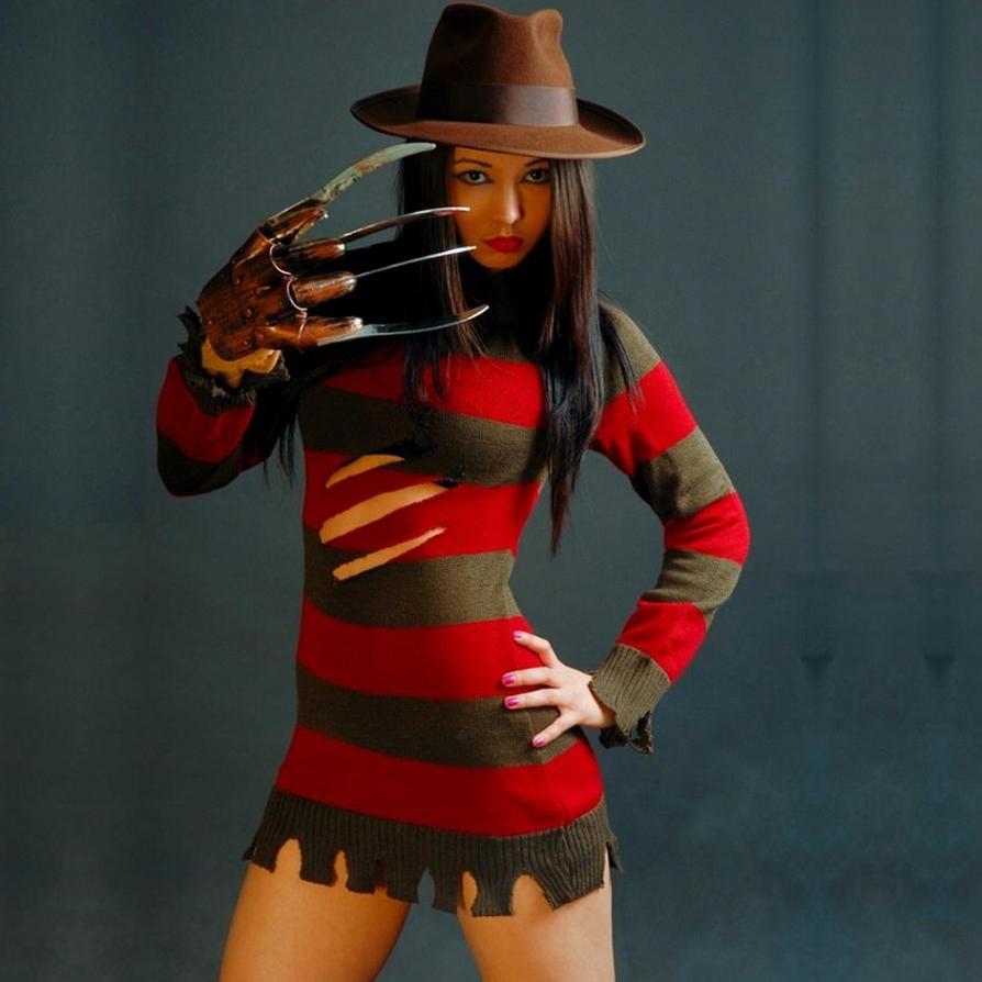 Freddy Krueger Female Cosplaycom