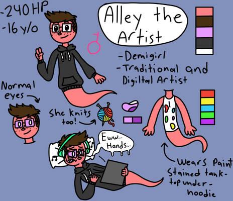 Ghostsona: Alley the Artist (Luigi's Mansion 3)