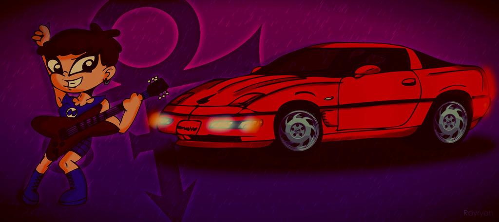 Purple Rain/ Red Corvette by Rayryan90 on DeviantArt