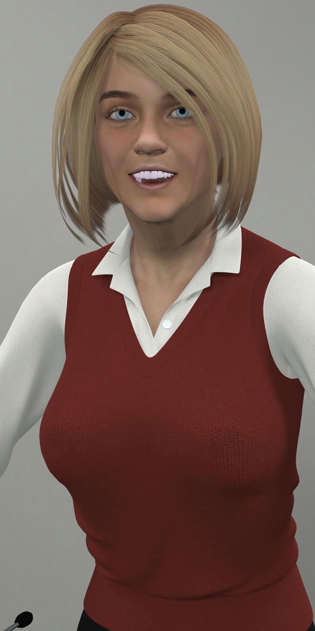 Debra Thompson - Teacher by tora-no-shi1369