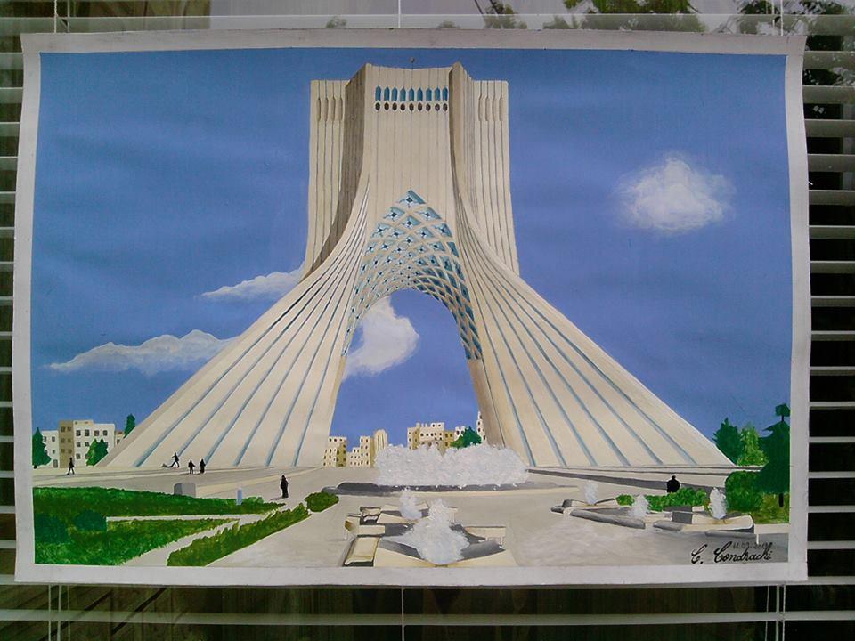 Azadi Tower, Tehran, Iran By CristinaCondrachi ...
