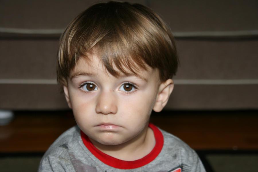 Sad baby boy by Evyrouss on DeviantArt