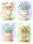 Four Urns