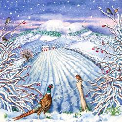 Border Seasons : Winter by LynneHendersonArt