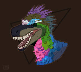 He gonna eat you alive by Techno--Raptor