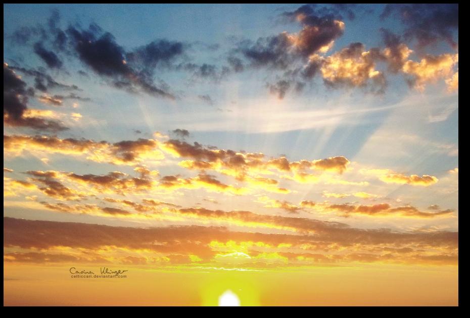 Sunset. by CelticCari