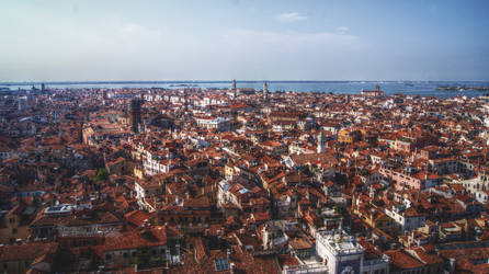 Venice Rooftops by CelticCari