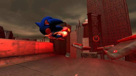 Sonic World - Crisis City 1 by Rodrick3D