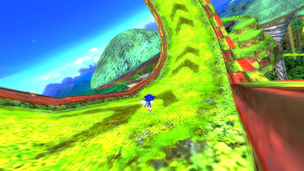 Sonic World - Frog Forest! by Rodrick3D