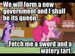 All Hail Queen Pinkie