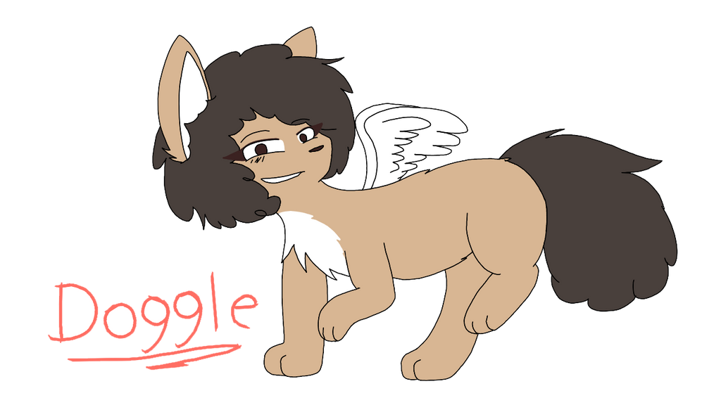 Doggle .:Gift:. by mishyna