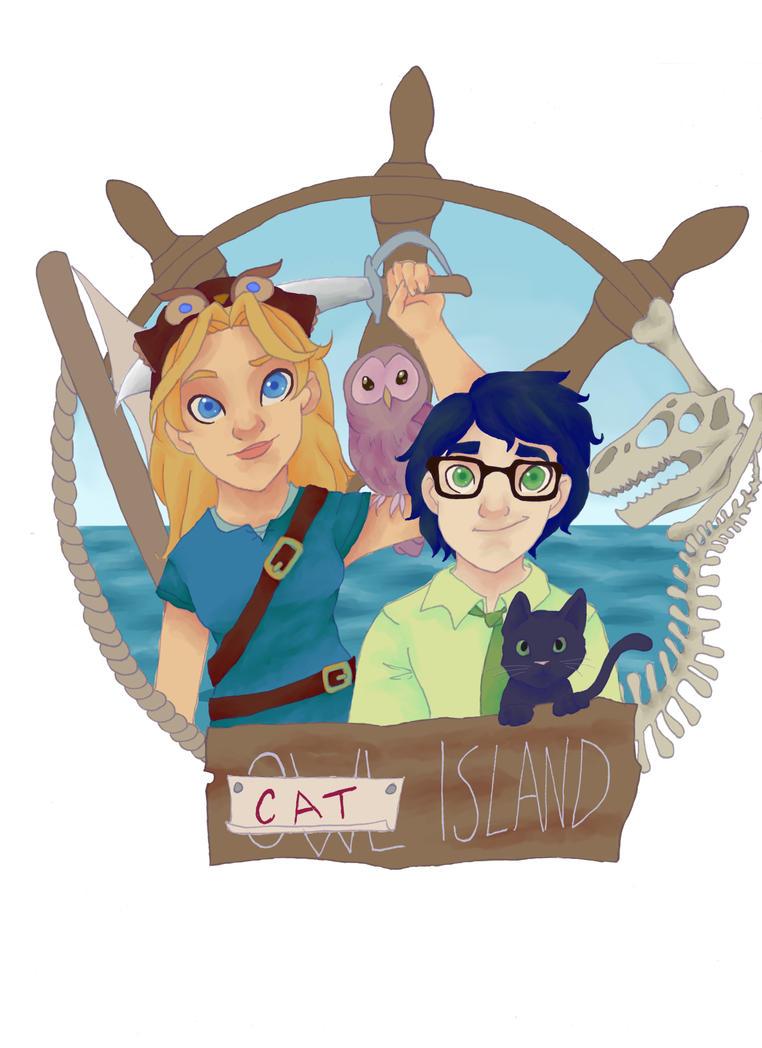 Cat Island by ReeRocksStuff