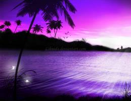 Fantasy Waterscape by lihnida