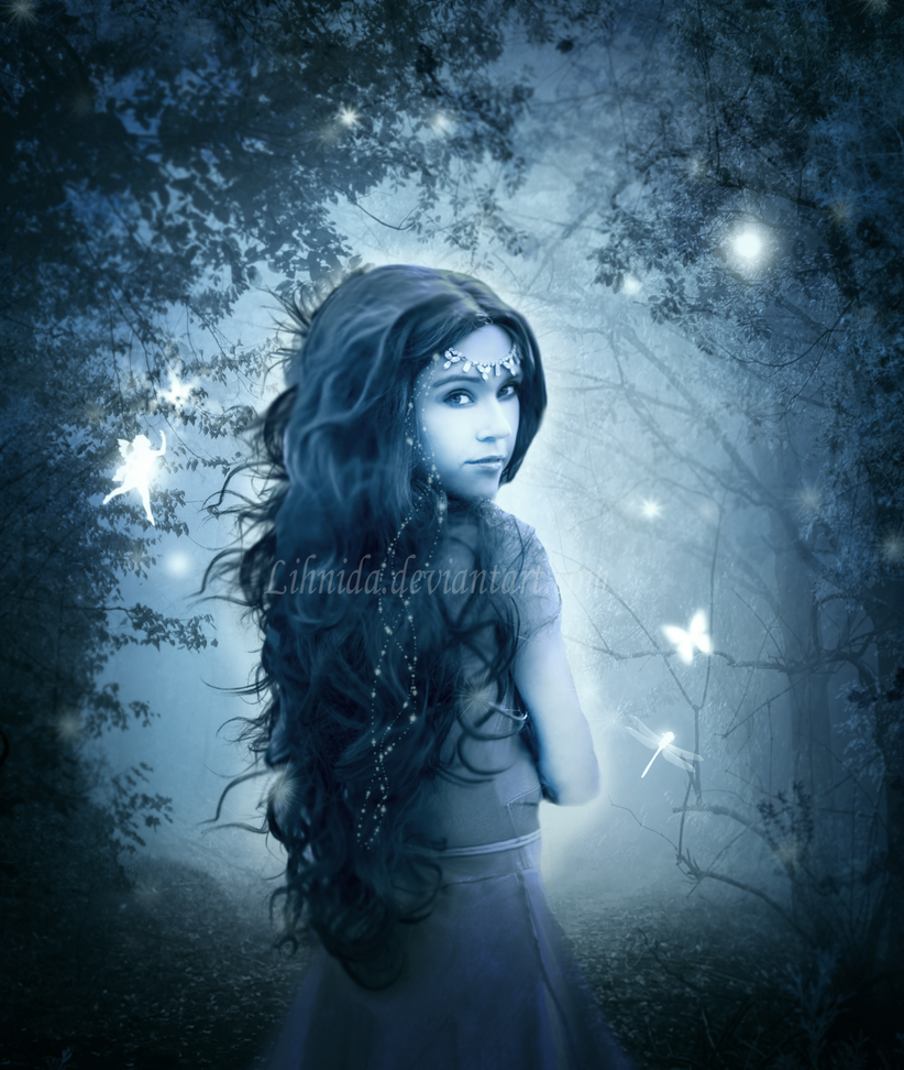 Fantasy girl by lihnida on deviantart fantasy girl by lihnida voltagebd Images