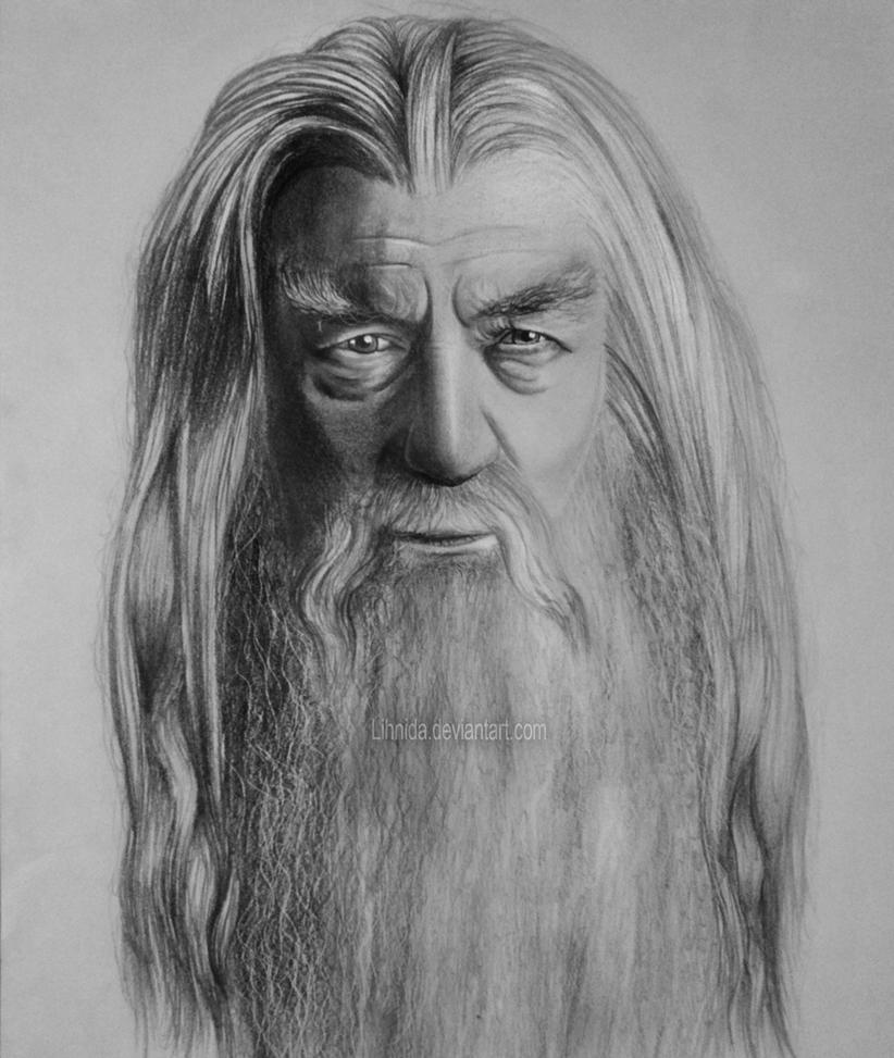 Gandalf the Grey by lihnida
