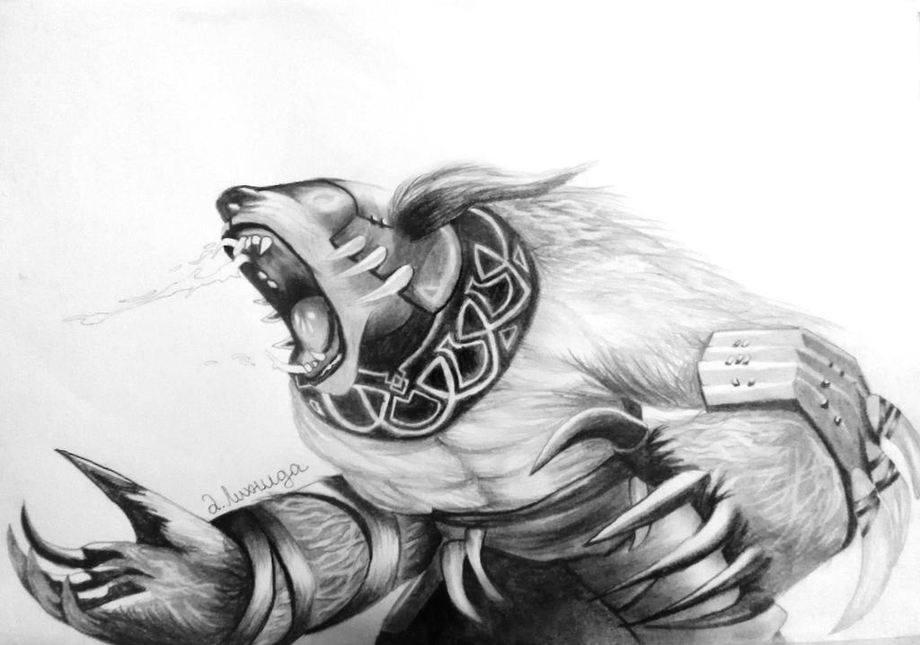 ursa dota2 by lihnida on deviantart