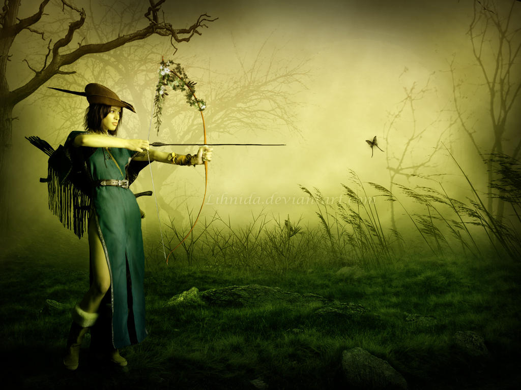 The archer by lihnida