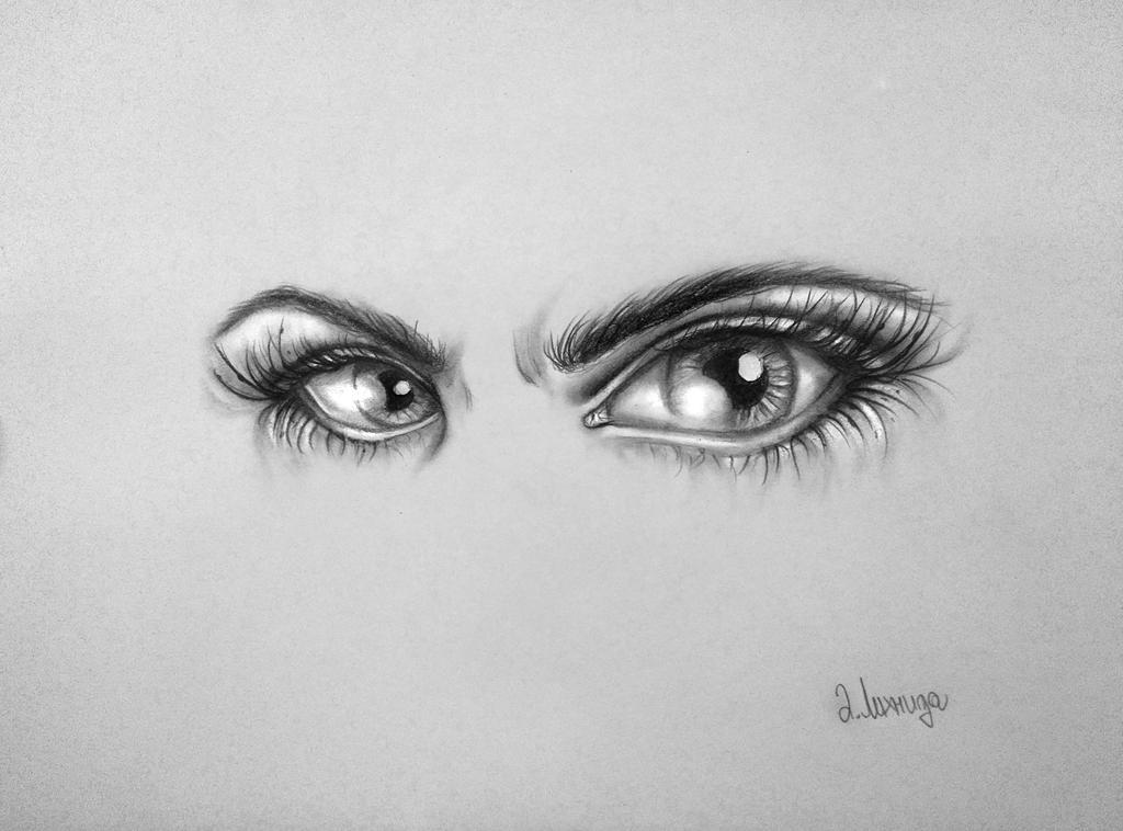 Angry Eyes By Lihnida On DeviantArt