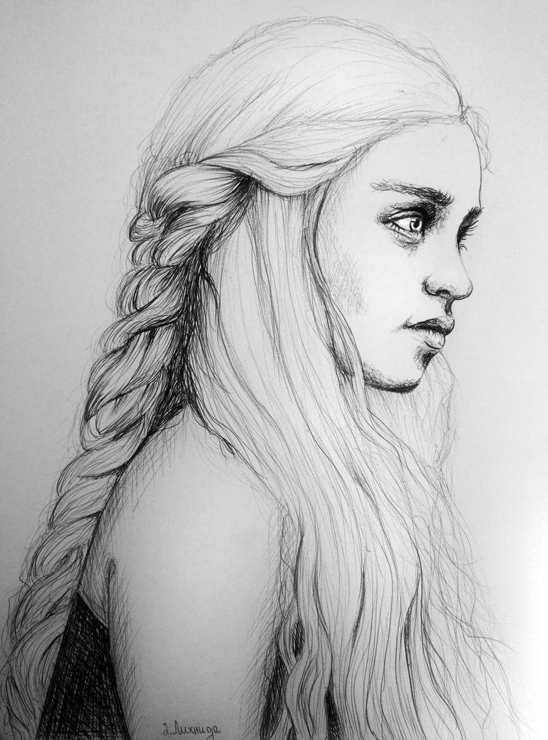 Daenerys Targaryen by lihnida