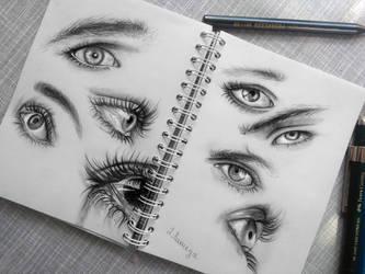 Expressive eyes by lihnida