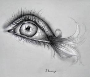 Mermaid eye by lihnida