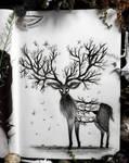 Fantasy deer