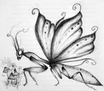 Fantasy Praying Mantis