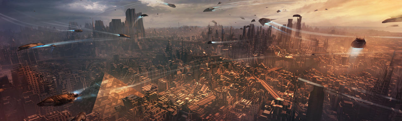 Sci-fi City