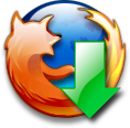 Firefox downloads icon by soulcreeper