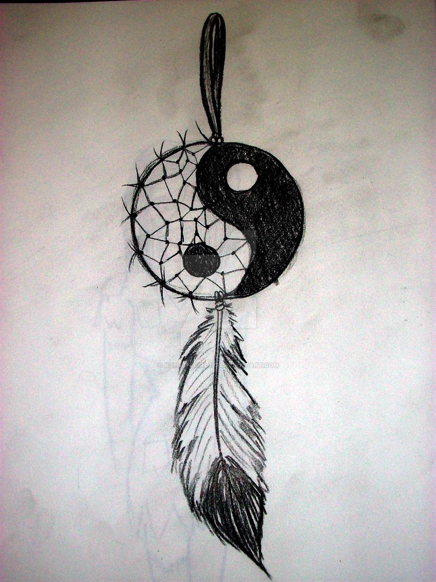 Yin Yang Dream Catcher by KohanaGirl222 on DeviantArt