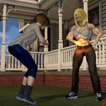 Comet Girl, Cindy, Tina  Chapter 10: New School by kittyelfie
