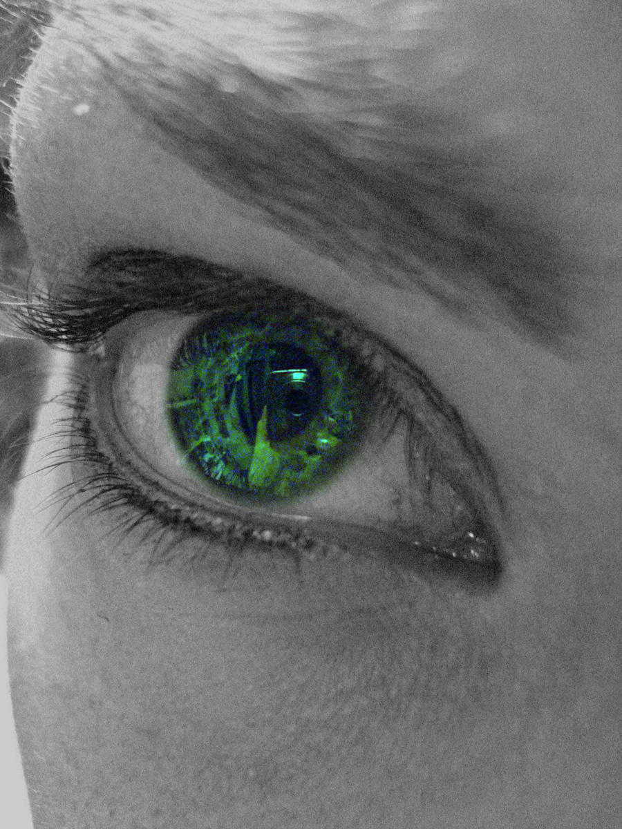 The Greenest Eye - Stock by OneLifeStock