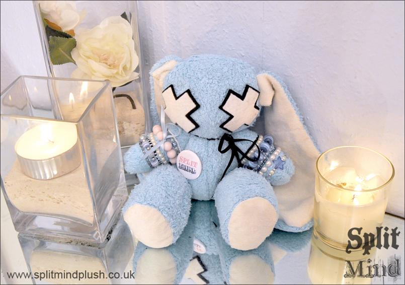 Blue Bunny by splitmindplush