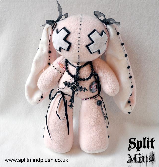 Cameo Bunny by splitmindplush