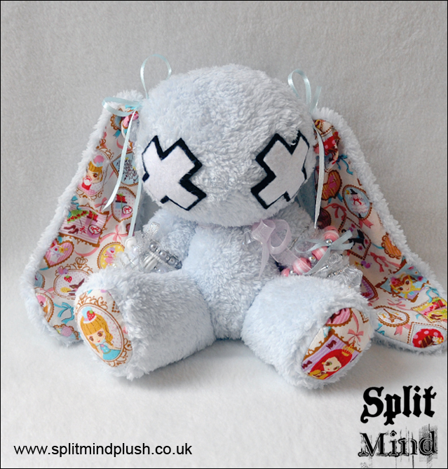 Moana Blue Bunny by splitmindplush