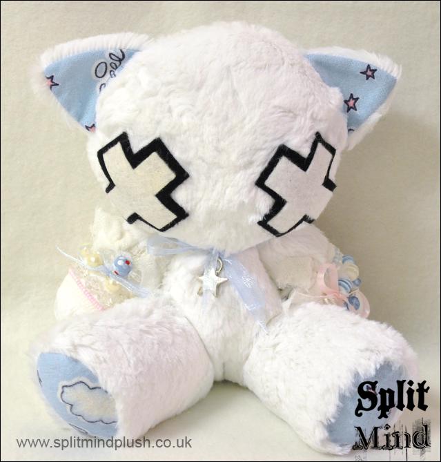 Faith Kitty by splitmindplush