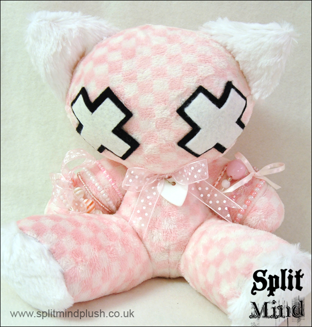 Pink Kitty by splitmindplush