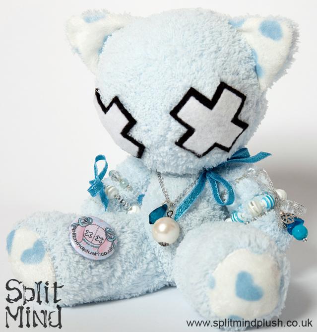 Blue Kitten by splitmindplush