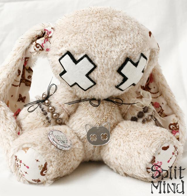 Beige Bunny by splitmindplush