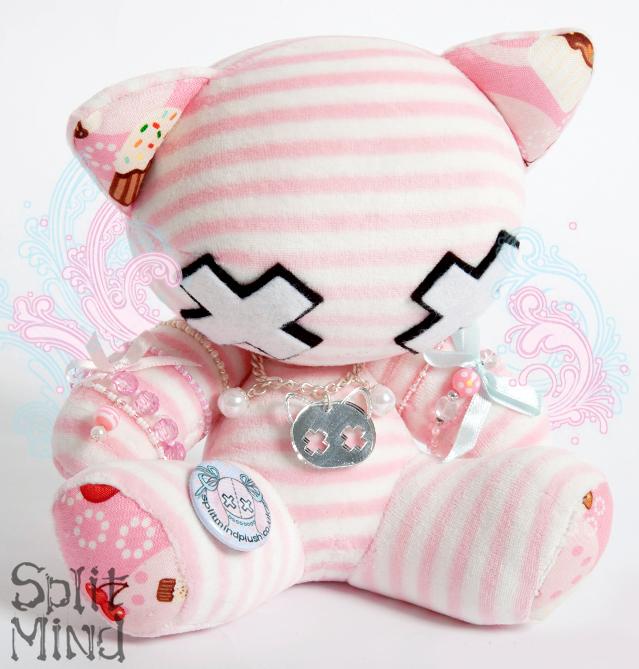Cupcake Kitten by splitmindplush